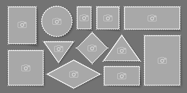 Lege postzegel
