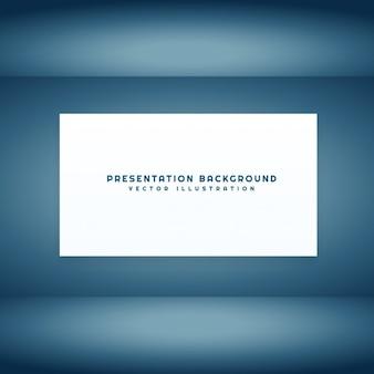Lege presentatieruimte