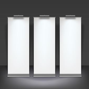 Lege roll-up banners