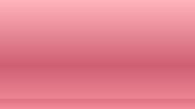 Lege roze studioscène voor productweergave voor presentatie-achtergrond