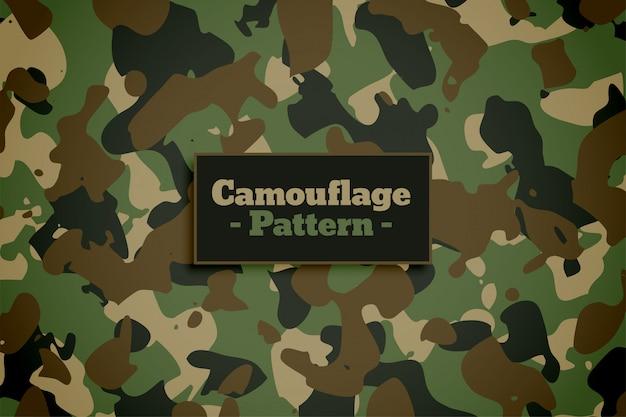 Leger en militaire het patroonachtergrond van de camouflagetextuur