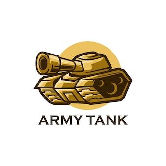 Legertank militair oorlogsvoertuig