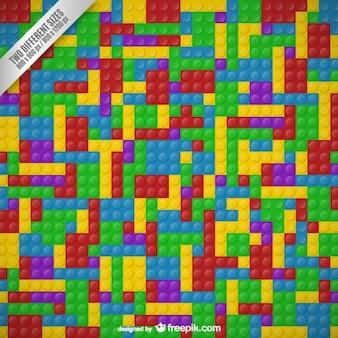 Legoblokken achtergrond