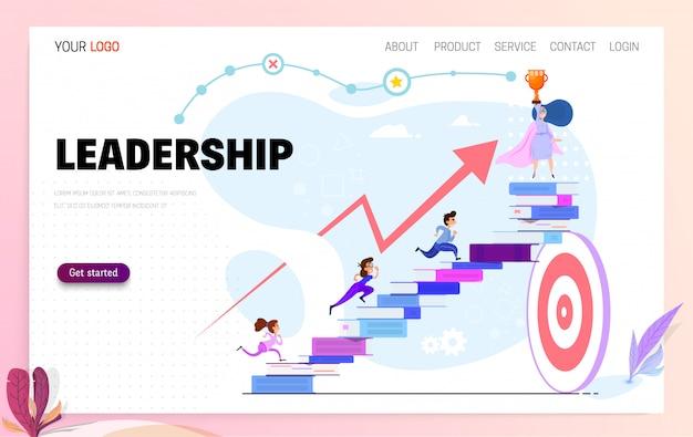 Leiderschap concept