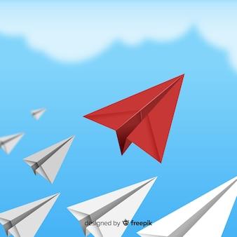 Leiderschapsdocumentvliegtuigen