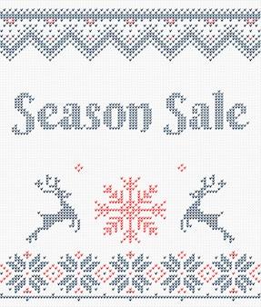 Lelijke trui vrolijke kerstmis en gelukkig nieuwjaar
