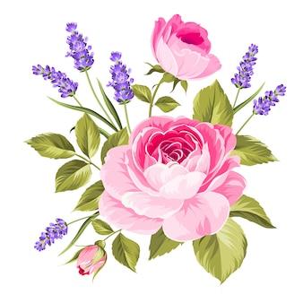 Lente bloemen boeket.