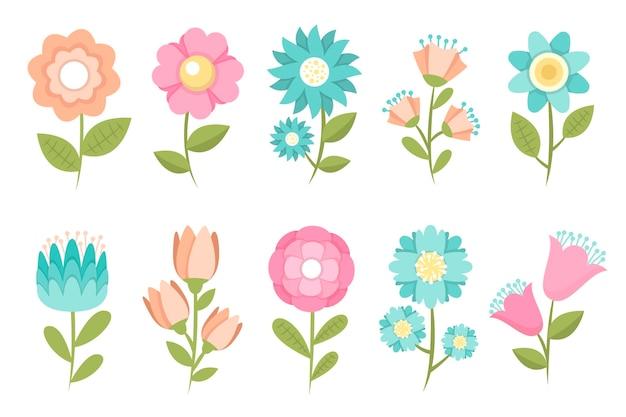 Lente bloemen instellen