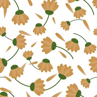 Lente en herfst naadloze patroon