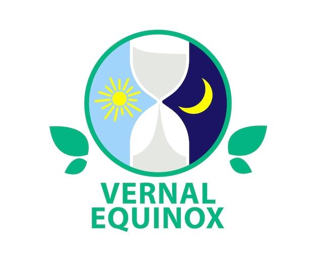 Lente-equinox dag van de lente-equinox