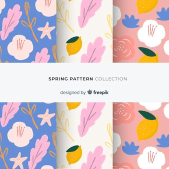 Lente patroon collectie