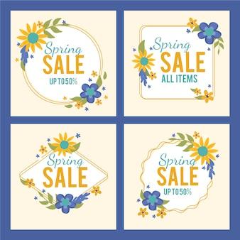 Lente verkoop instagram postpakket