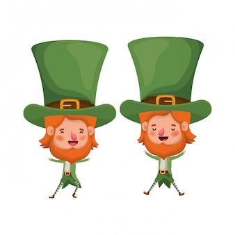 Leprechaun's staande avatar karakter