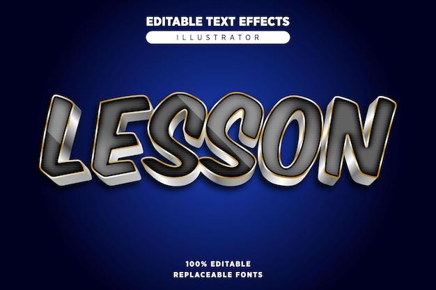 Les teksteffect bewerkbaar