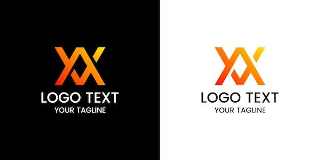 Letter av logo ontwerp vector