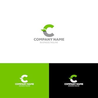 Letter c organische logo sjabloon