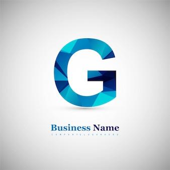 Letter g ontwerp