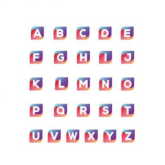 Letter logo bundle