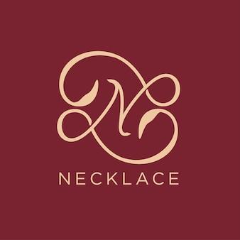 Letter n logo pictogram