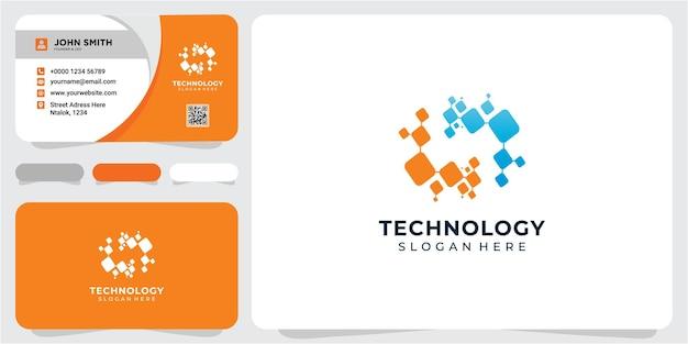 Letter n technologie logo ontwerpconcept n dot verbinding logo ontwerp inspiratie