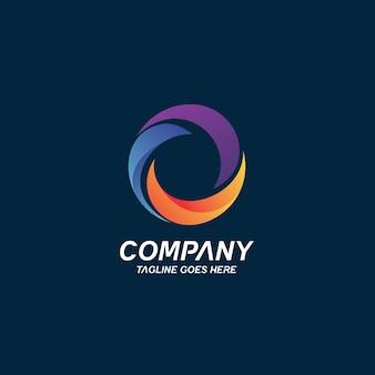 Letter o logo ontwerp