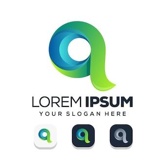 Letter q logo ontwerp