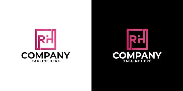 Letter r logo ontwerp