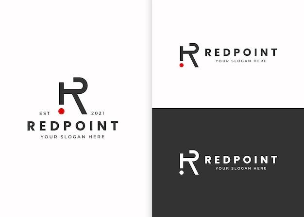 Letter r-logo ontwerpsjabloon