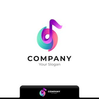 Letter t kleurrijke logo geïsoleerd op wit