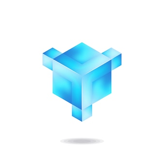 Letter y ice-logo