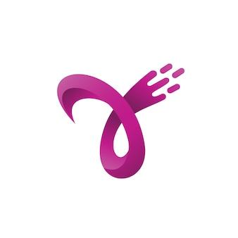 Letter y logo vector