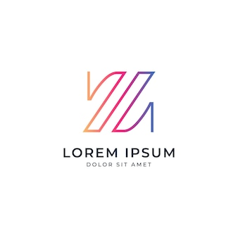 Letter z logo sjabloon