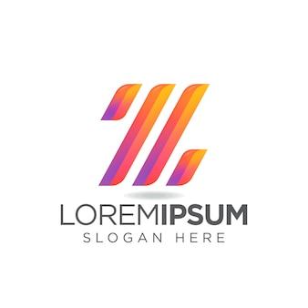 Letter z modern technology-logo