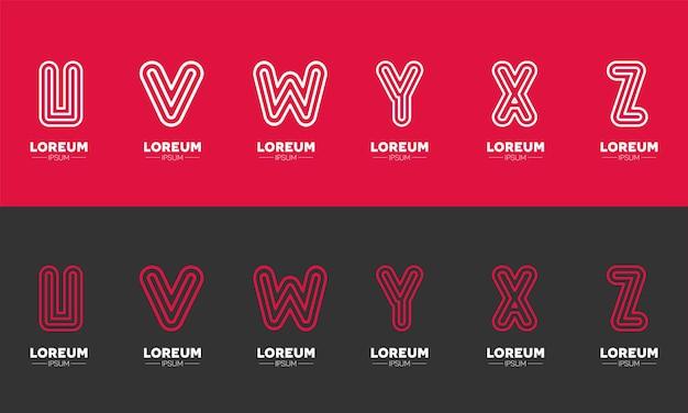 Letterlogo-ontwerpen voor de startups