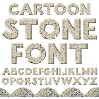 Lettertype van steentijd en grens