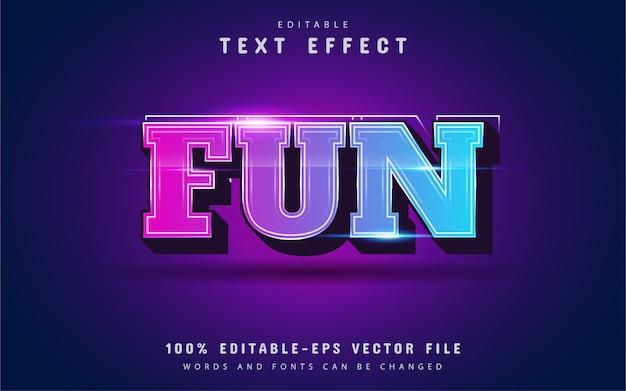 Leuk 3d teksteffect met verloop