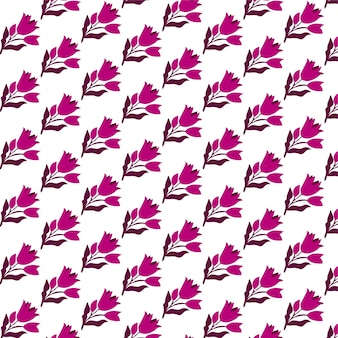 Leuk bloemen naadloos patroon in de kleine bloem wallpaprt achtergrond ditsy print