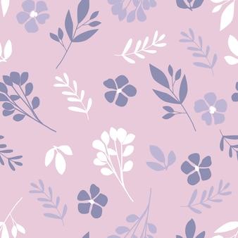 Leuk bloemen naadloos patroon