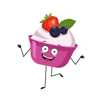 Leuk cake- of yoghurtkarakter