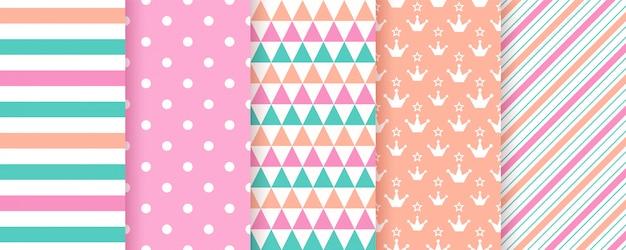 Leuk geometrisch naadloos patroon