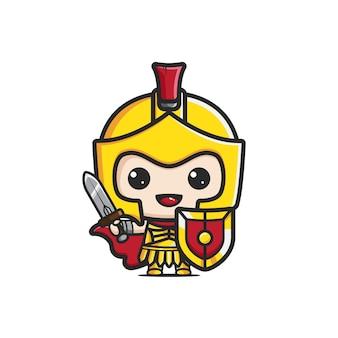 Leuk gladiator goud