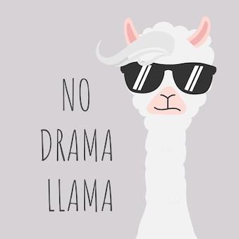 Leuk lamaontwerp zonder drama van dramatiekcitaat.