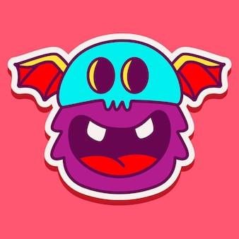 Leuk monster karakter