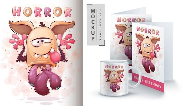 Leuk monster - poster en merchandising