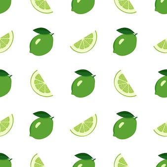 Leuk naadloos helder patroon van citrusvruchten