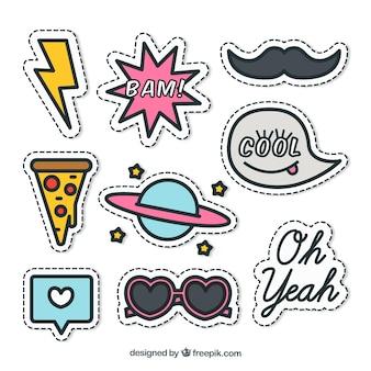 Leuk pakket stickers