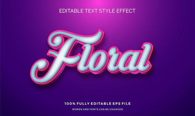 Leuk tekststijleffect. bewerkbare lettertypen wijzigen.