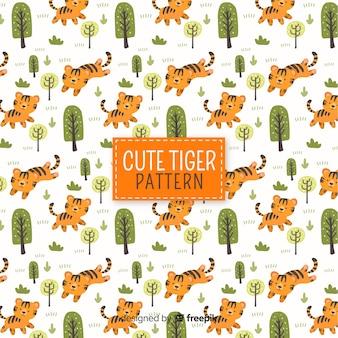 Leuk tijgerpatroon