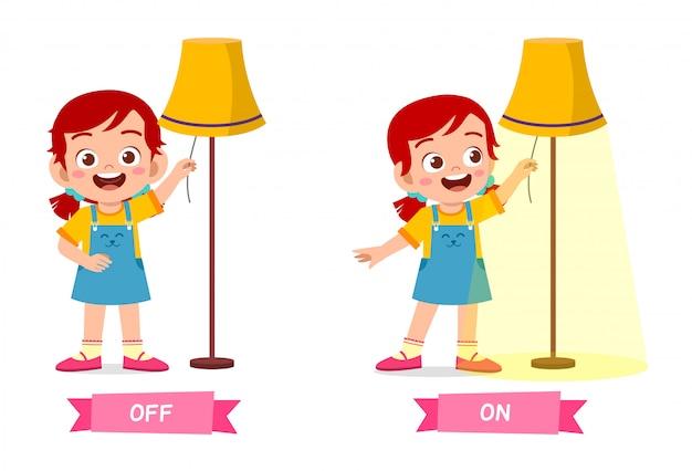 Leuk voorbeeld van tegengesteld woord antoniem voor kind