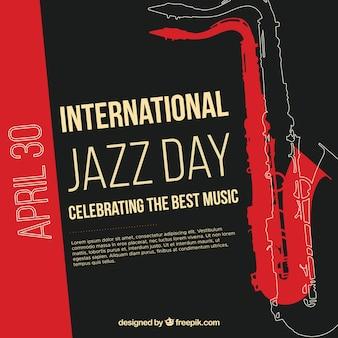 Leuke achtergrond voor internationale jazzdag